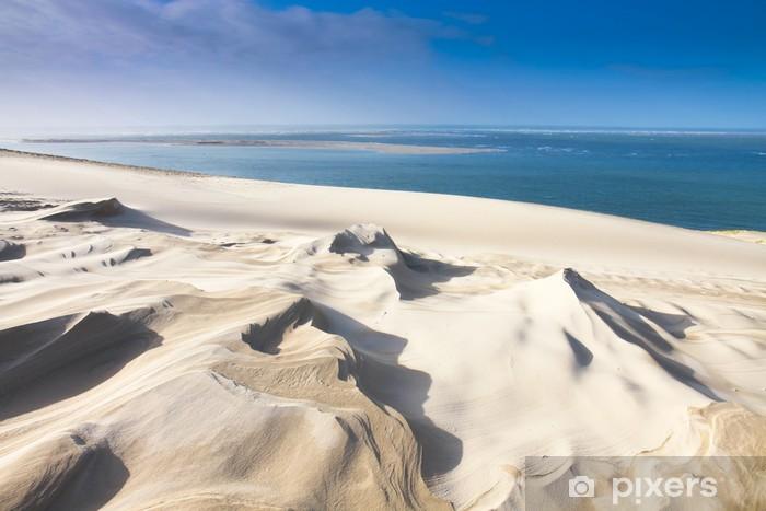 dune du pyla près d'arcachon Pixerstick Sticker - Themes