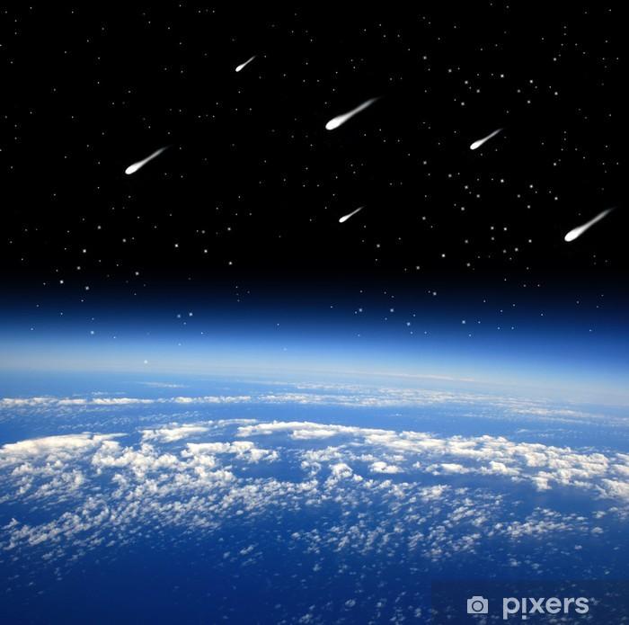 Sticker Pixerstick Pluies de météores - Merveilles naturelles