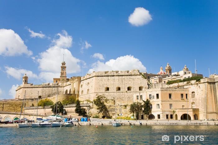 Papier peint vinyle Senglea. Malte - Europe