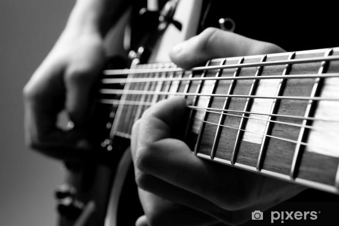 Fototapeta winylowa Grać na gitarze - Jazz