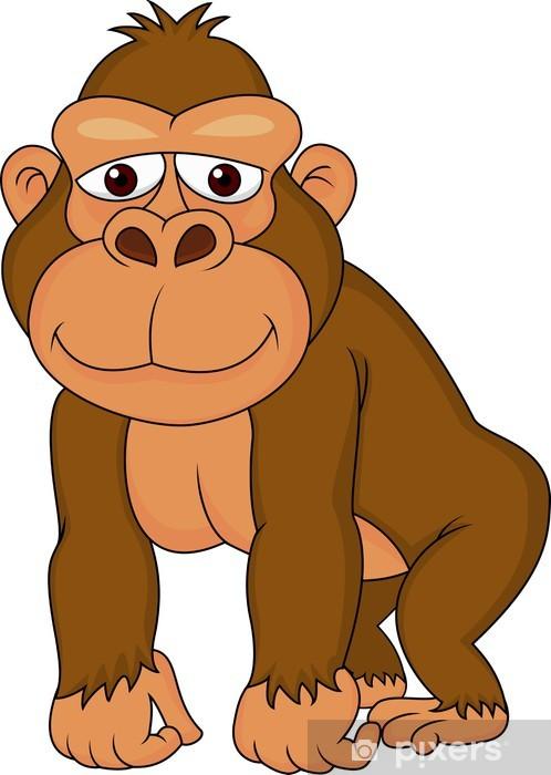 Výsledek obrázku pro gorila kreslená