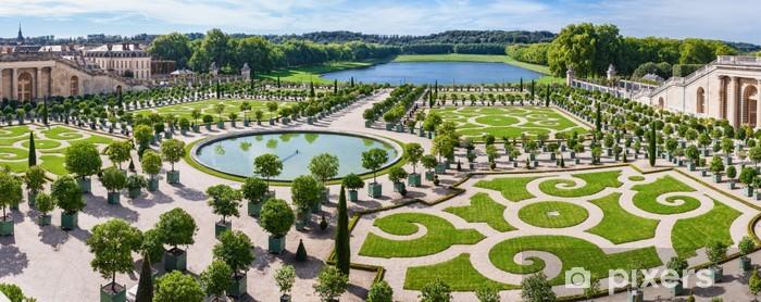 Fotobehang Lorangerie Tuin In Versailles Parijs Frankrijk