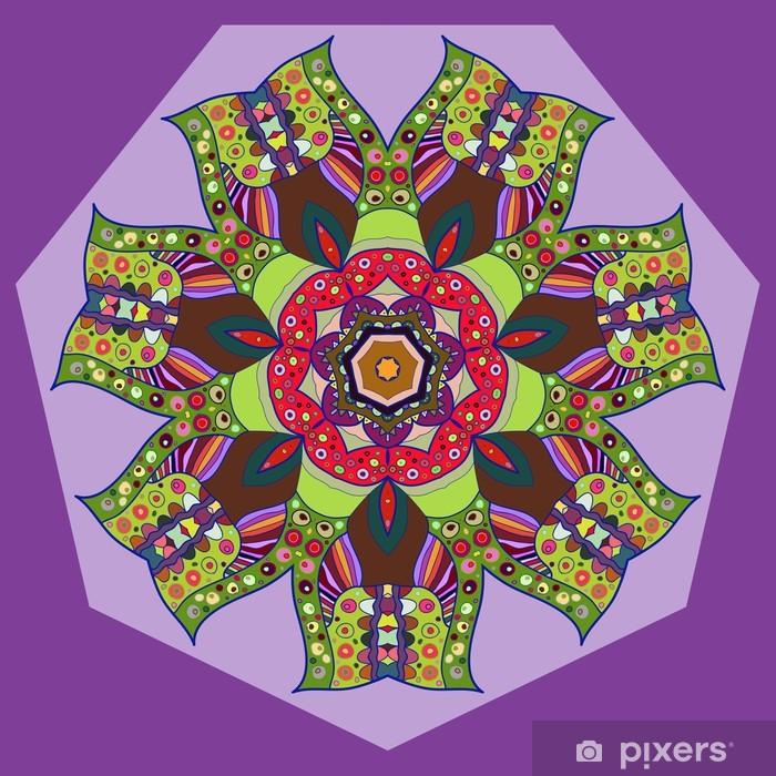 Fotomural Estándar Oriental motif ornamento tradicional - Asia