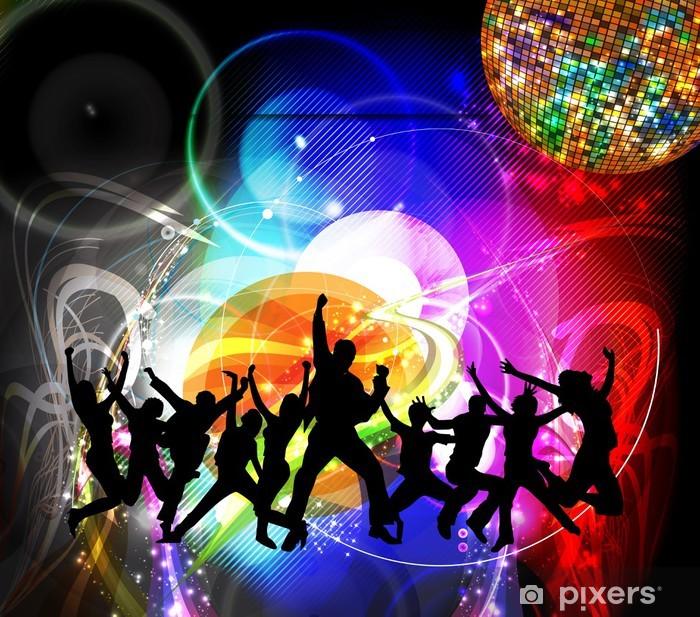 Fotobehang Dansende Mensen Pixers 174 We Leven Om Te
