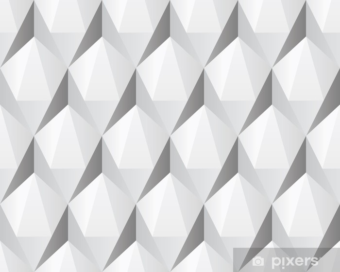 Alfombrilla de baño Textura blanca transparente abstracta 3d - Temas