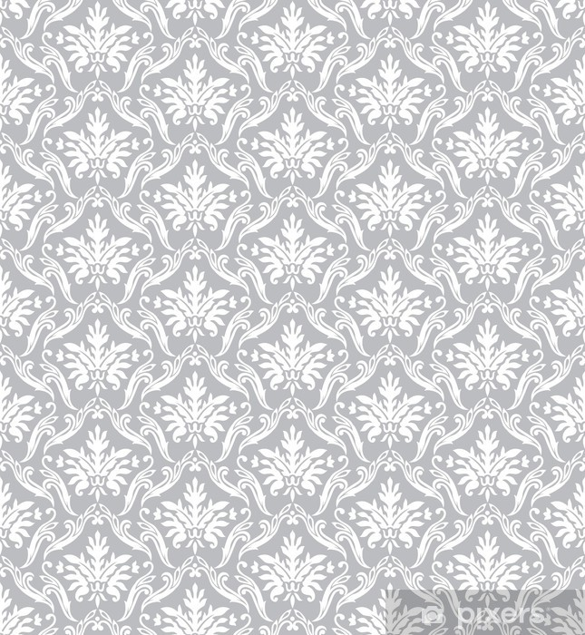 Pixerstick Aufkleber Silber klassische Wallpaper - Stile