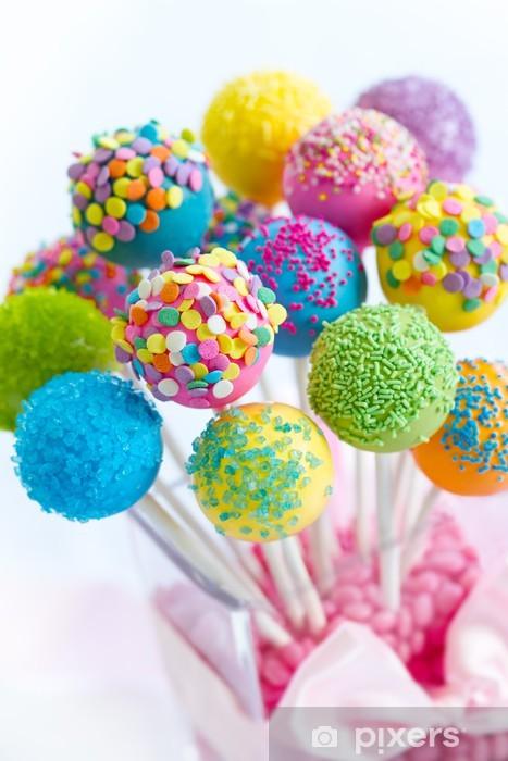 Naklejka Pixerstick Cake pops - Tematy