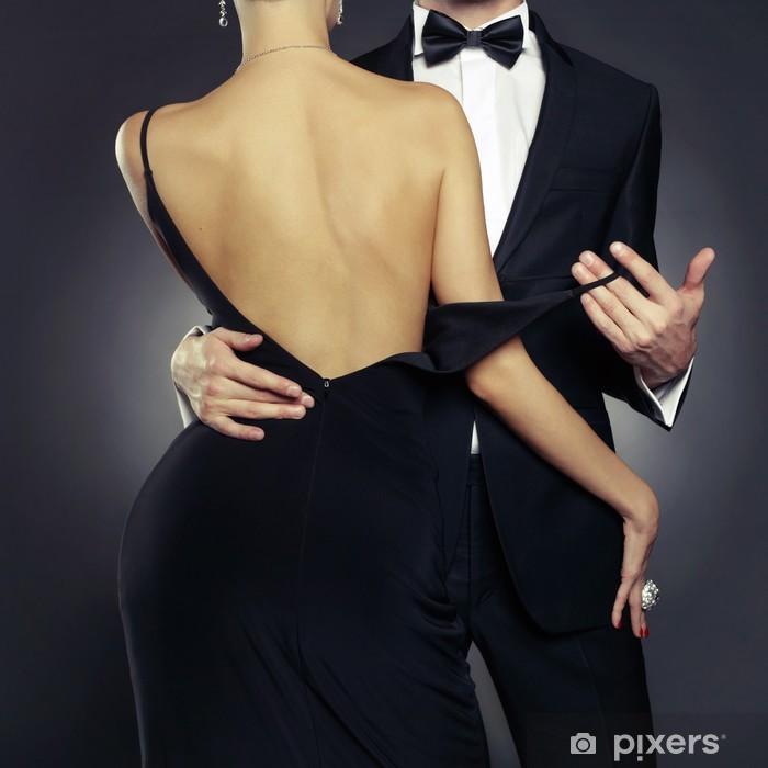 Sensual couple Pixerstick Sticker - Fashion