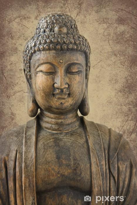 Vinyl-Fototapete Buddha Porträt - Themen