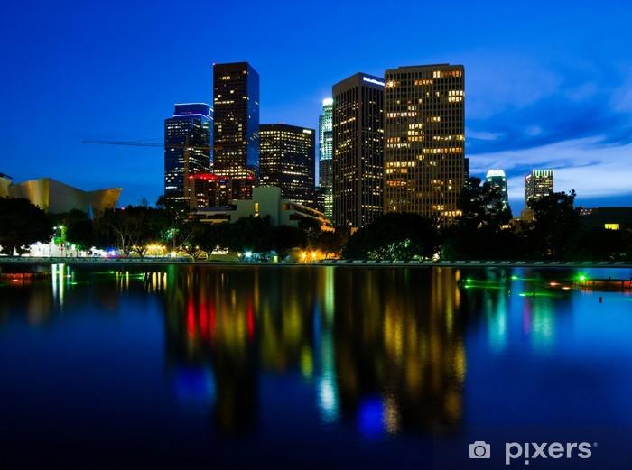 Fototapeta winylowa Los Angeles w nocy - Tematy