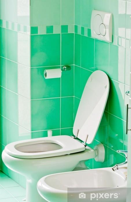 Vinilo Cuarto de baño moderno Pixerstick