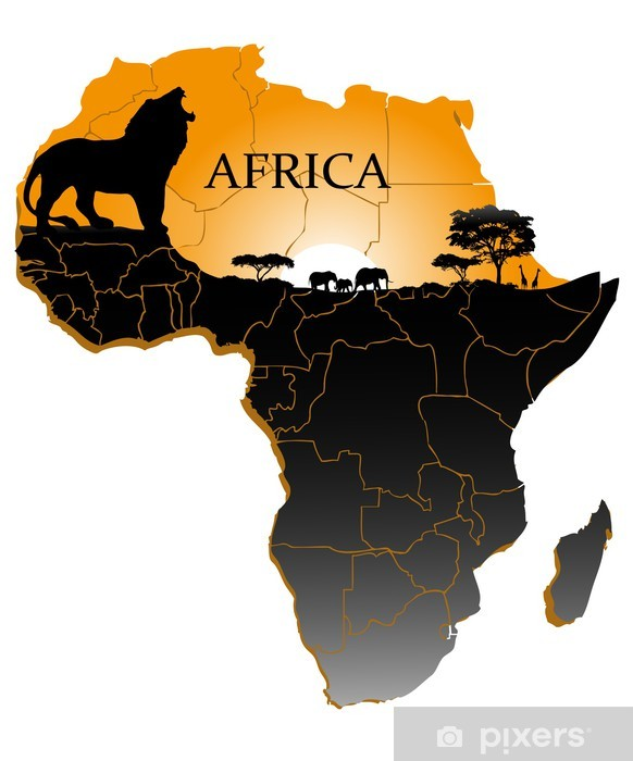 африка картинка материка черно белая этом сообщает