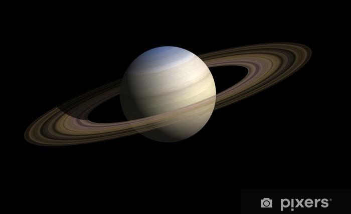 Papier peint vinyle Saturne - Planètes
