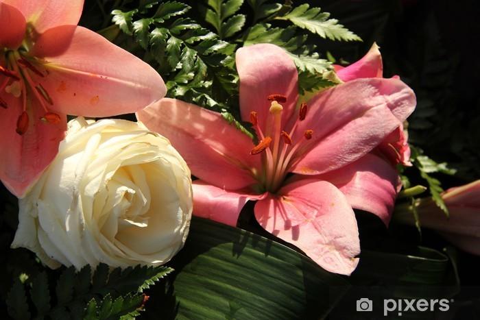 Fototapeta winylowa Duży różowy tigerlily - Świętowanie