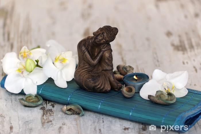 Pixerstick Sticker Wellness en ontspanning - Religie