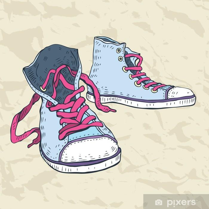 Fotomural Calzado de deporte. Sneakers. • Pixers® - Vivimos para cambiar 128c96bf9f1c0