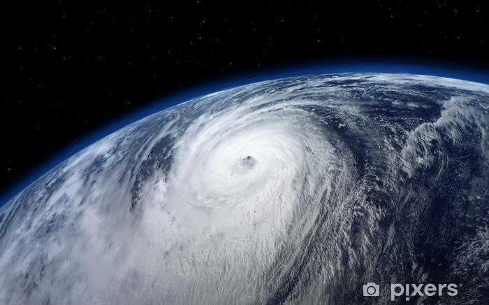 Vinylová fototapeta Tajfun, satelitní pohled - Vinylová fototapeta