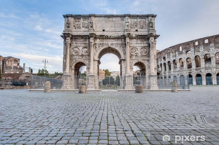 Naklejka Pixerstick Łuk Konstantyna w Rzymie, Włochy - Miasta europejskie