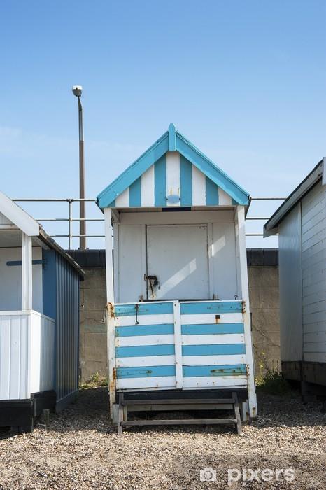 Vinylová fototapeta Barevné Beach Hut v Southend on Sea, Essex, Velká Británie. - Vinylová fototapeta