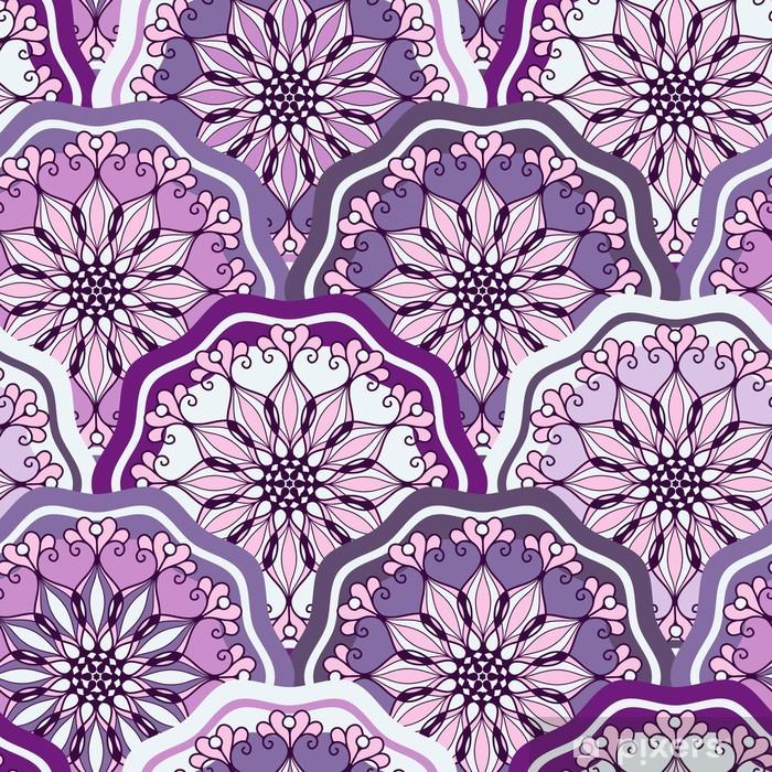 Poster Vintage seamless pattern - Internationale Feste