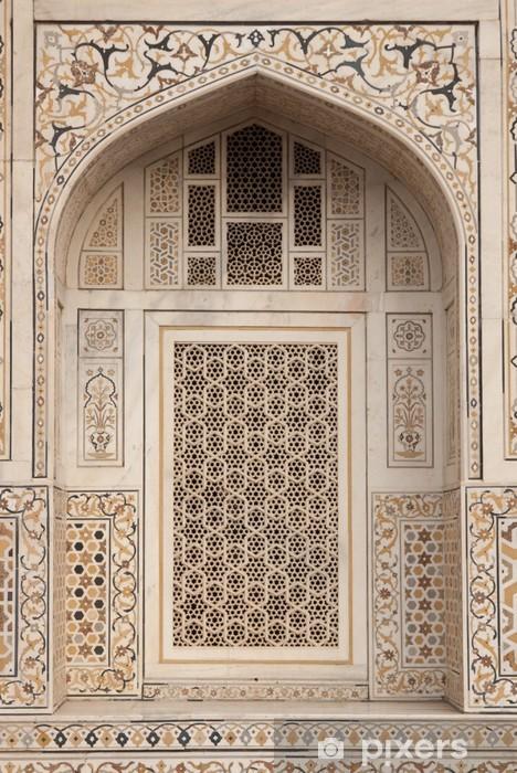 Nálepka Pixerstick Mughal hrobka (I'timad-ud-Daulah) v Agra, Indie - Asie
