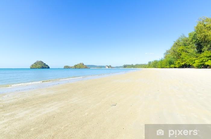 Naklejka Pixerstick Ocean i tropikalna plaża - Woda