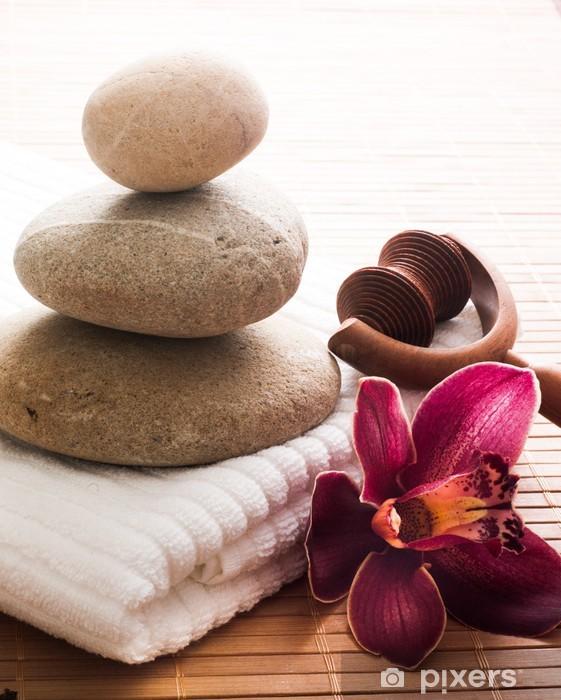 Pixerstick Sticker Zen welzijn - Schoonheid en Lichaamsverzorging