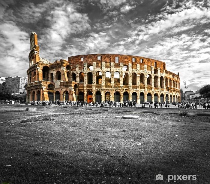 Fototapeta winylowa Majestatyczny Koloseum, Rzym, Włochy. -