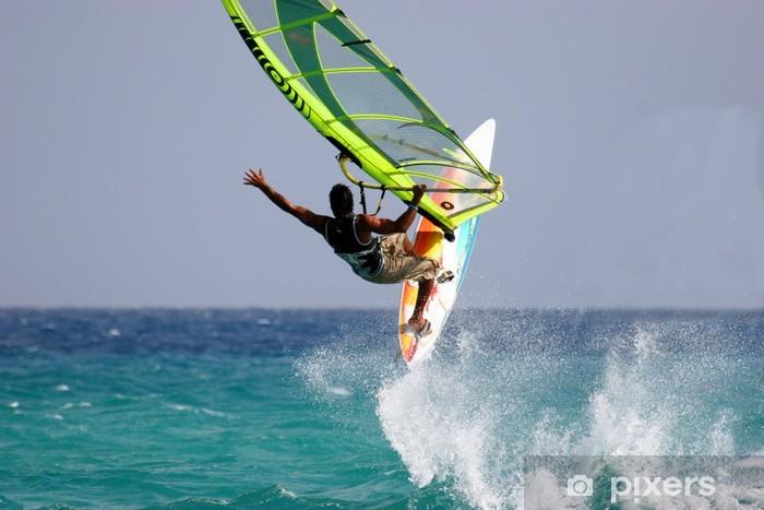 Naklejka Pixerstick Windsurfing - Sporty wodne