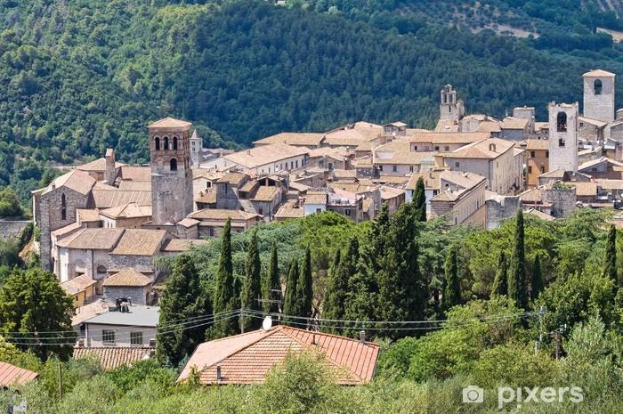 Vinylová fototapeta Panoramatický výhled na Narni. Umbria. Itálie. - Vinylová fototapeta