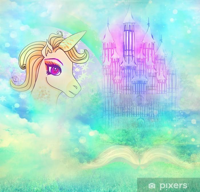Naklejka Pixerstick Magiczna księga opowieści fantasy, - Tematy