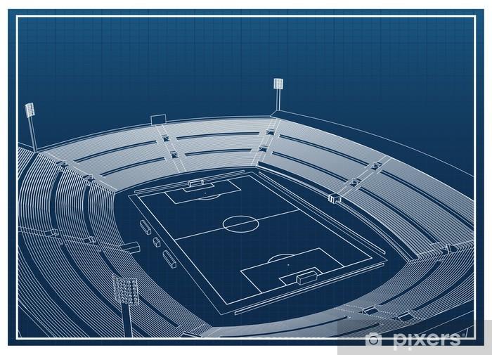 Fototapeta samoprzylepna Stadion piłkarski - Sporty drużynowe