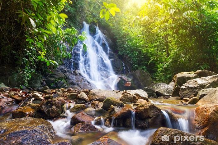 Beautiful Sai Rung waterfall in Thailand Vinyl Wall Mural - Themes