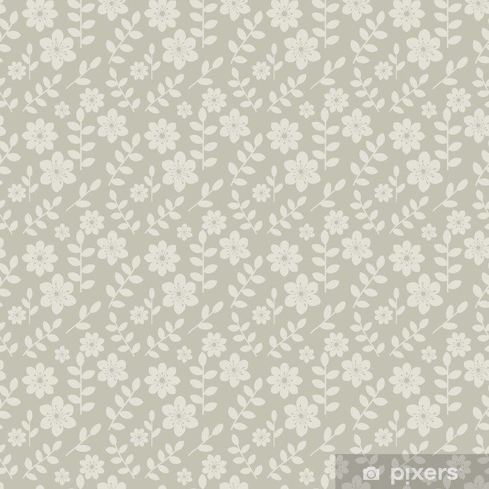 Poster Transparente motif floral - Mode