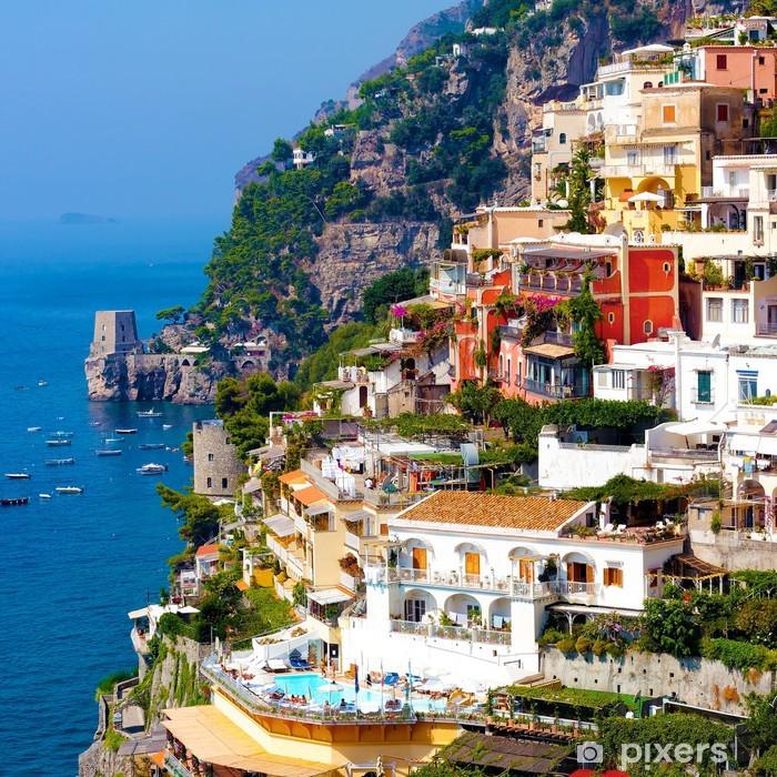 Positano, italy. Amalfi Coast Vinyl Wall Mural - Themes