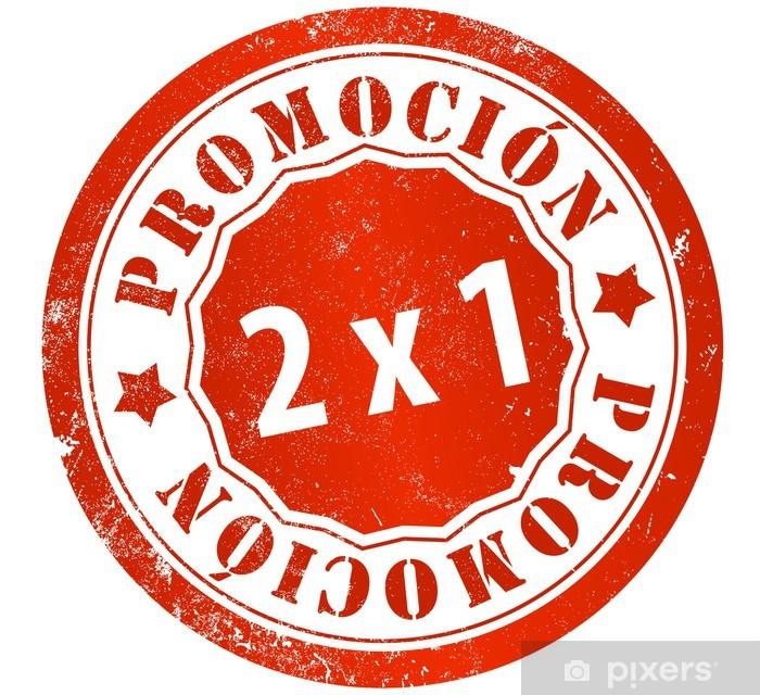 Póster Sello 2x1 promoción • Pixers® - Vivimos para cambiar