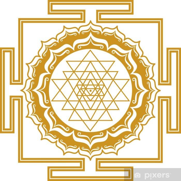 Poster Shri Yantra - Energie Générateur - Religion