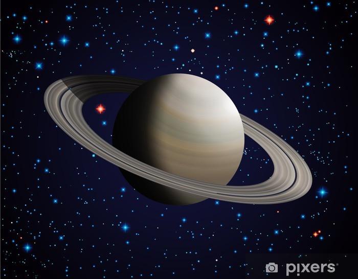 Papier peint vinyle Saturn - Étoiles