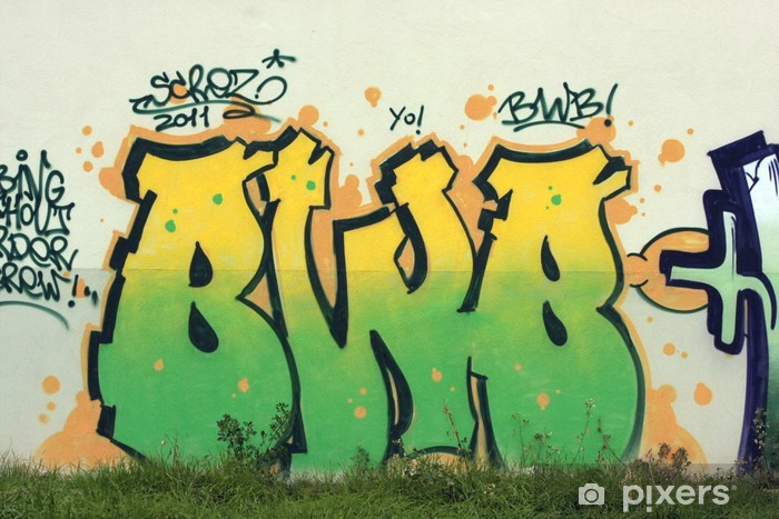 Naklejka Pixerstick Graffiti130 - Inne