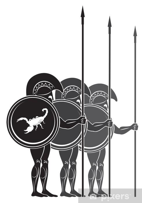 Papier peint vinyle Gladiateur - Réussite