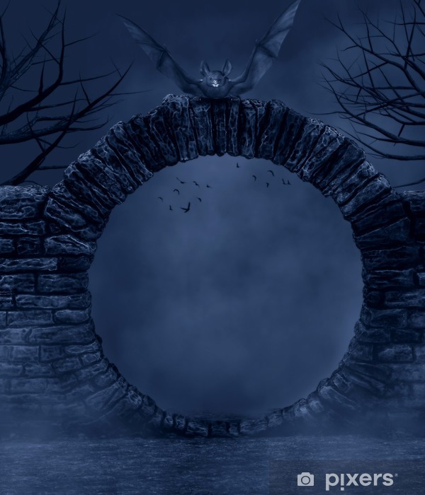 Naklejka Pixerstick Dark Night - Inne uczucia