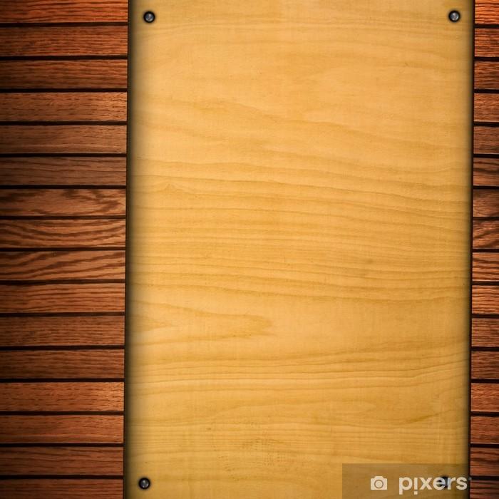 Nálepka Pixerstick Pozadí dřevěné vzor - Těžký průmysl