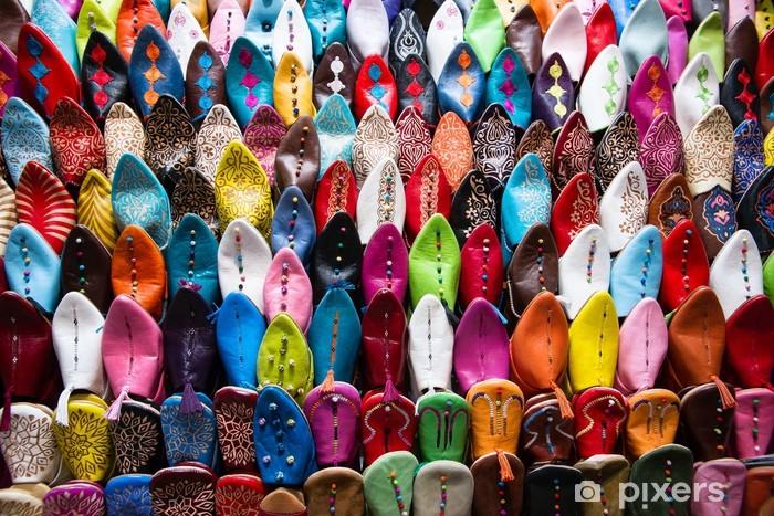 Fototapeta samoprzylepna Orientalne buty - Afryka
