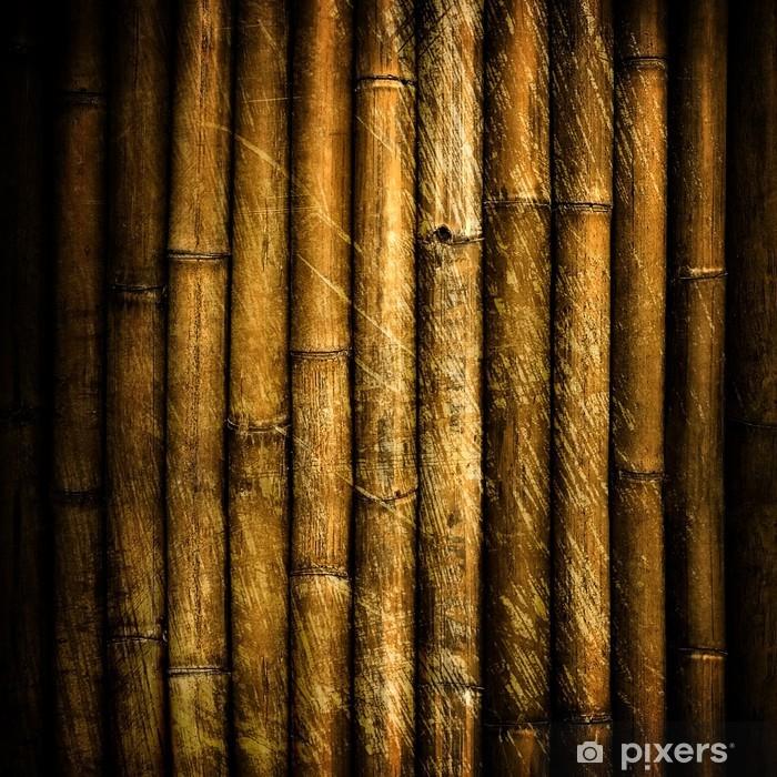 Plakát Grunge pozadí bambus - Témata