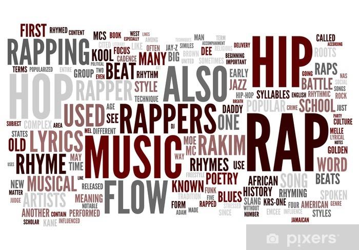 Pixerstick Dekor Rap - Hio hop