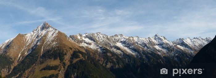 Sticker Pixerstick Alpen panorama - Europe