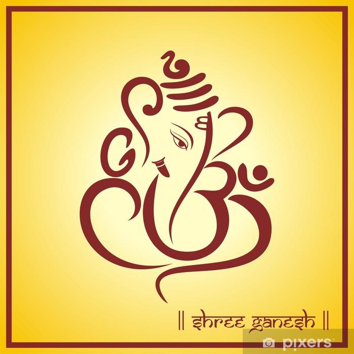 Poster Ganesha, carte de mariage hindou, Royal Rajasthan, en Inde - Célébrations