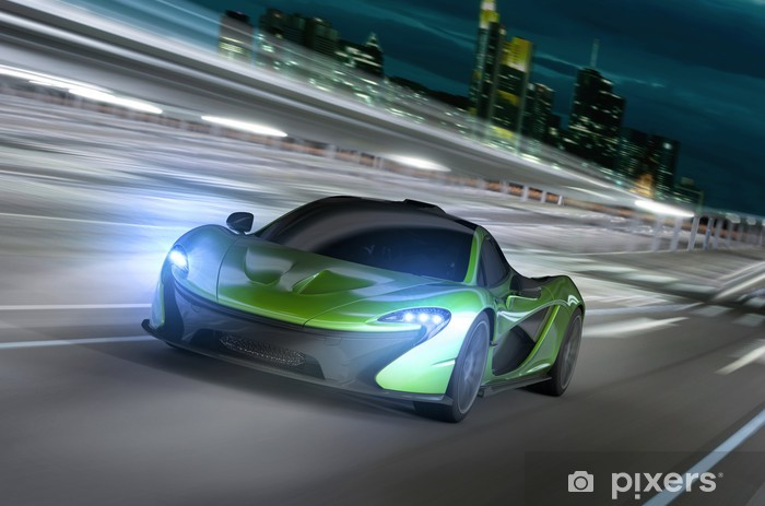 Naklejka Pixerstick Frankfurt noc racer -