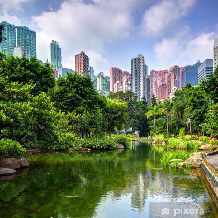 Fototapeta winylowa Hong Kong Park - Azja