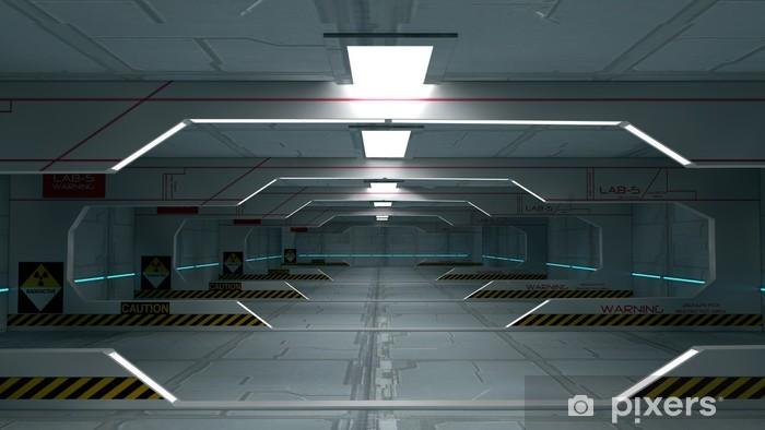 Fotomural Estándar Interior futurista - Tiempo